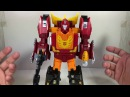 Transformers Power of the Primes Rodimus Prime Chefatron Toy Review