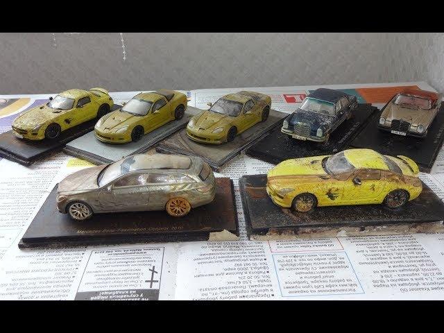 Масштабные модели от производителя Spark на реставрацию серия 1 и 2 - осмотр моделей