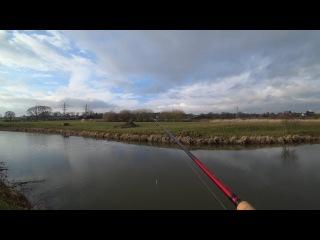 Эта река в поле,ПОЛНА РЫБЫ !!! Спиннинг в марте 2018.