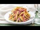 ВКУСНЕЙШИЙ САЛАТ из копченой колбасы! Как приготовить салат из колбасы!