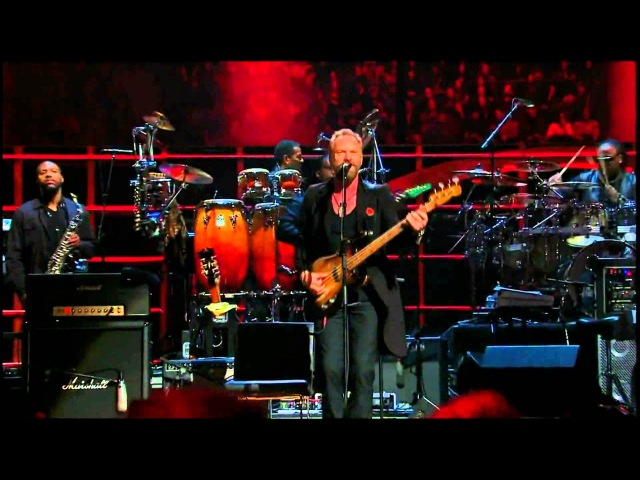 Sting Stevie Wonder - Roxanne (Live) HD