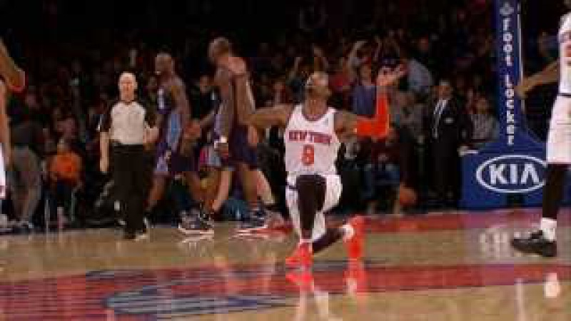 JR Smith Hits A Jumper From Halfcourt to Beat the 3rd Quarter Buzzer