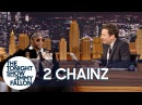 2 Chainzs Dog Trappy Falls Asleep in the Middle of His Interview