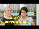 💃🏽👠👗KLAI'S TEEN SHOPPING HAUL / WHAT'S IN YOUR BACKPACK?🎒👛