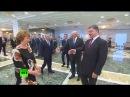 Изменился в лице. Как Порошенко встретил Путина в Минске