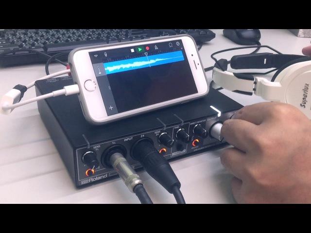 Roland Rubix24 for iPhone play (帝米數位音樂)