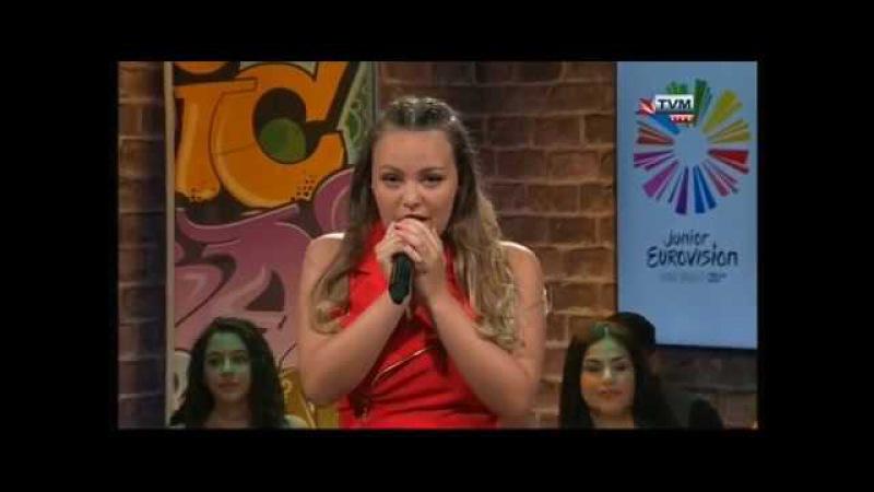 Malta JESC 2017 (Guest) - Federica Falzon - Pacify Her