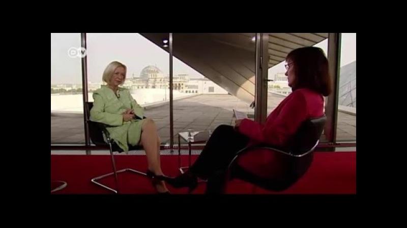 La entrevista Con la Ministra Alemana de Educación Johanna Wanka