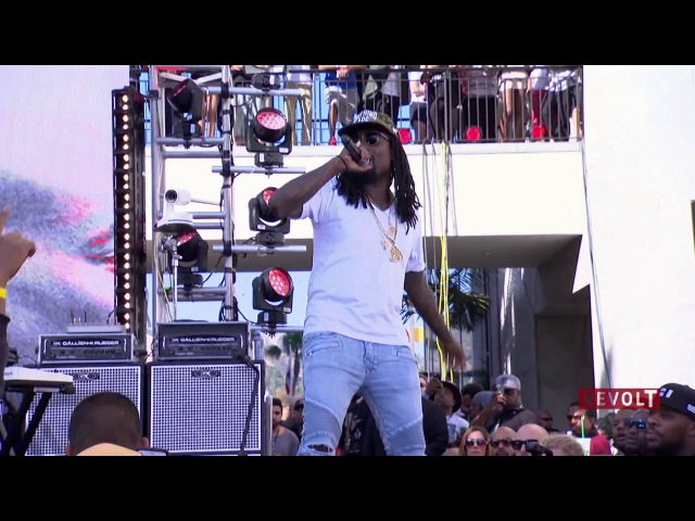 FAST FURIOUS 7 - Ride Out (Live) - Wale, Tyga, YG Rich Homie Quan