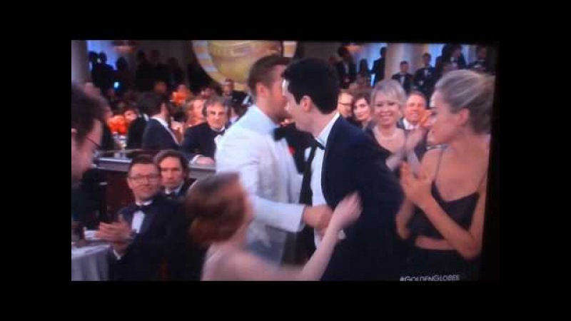 Emma Stone weird reaction on The 74th Annual Golden Globe Awards