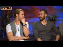 'The Avengers' Interviews Chris Hemsworth and Chris Evans