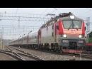 Электровоз ЭП20-035 с поездом№737А Москва-Брянск станция Нара 21.09.2017