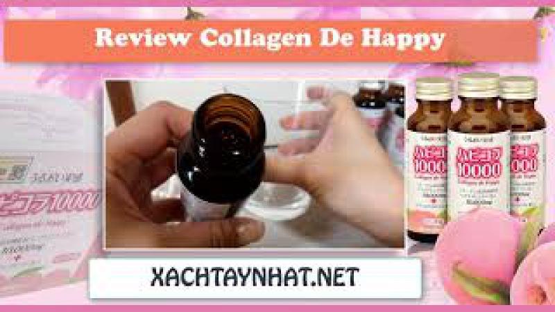 Review collagen de happy chăm sóc da tốt nhất của Nhật Bản