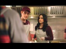 Riverdale 2x12 Archie and Veronica volunteer at a Soup Kitchen 2018 HD
