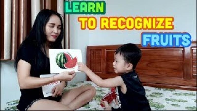 Khánh Thiên chơi Thẻ Học Thông Minh cùng Mẹ - Thẻ học thông minh loại lớn - Sky Channel