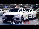 CAR FACTORY  OPEL FACTORY AT RUSSELESHEIM l INSIGNIAASTRA l FULL ASSEMBLY LINE (NO MUSIC)