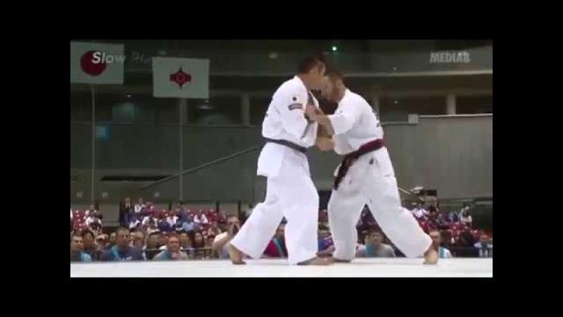 Best KoAshot Zarinyan(Russia)Vs Yota Higuchi(Japan)ippon by Ura Mawachi Geri