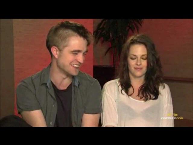 Cineplex Interview part 1,2,3 - Robert Pattinson and Kristen Stewart
