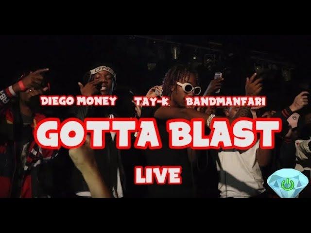 Tay K Diego Money Bandmanfari Gotta Blast Live shot by @poweredondiamonds