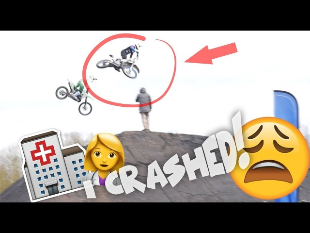 EPIC crash in France! I almost broke my hip!
