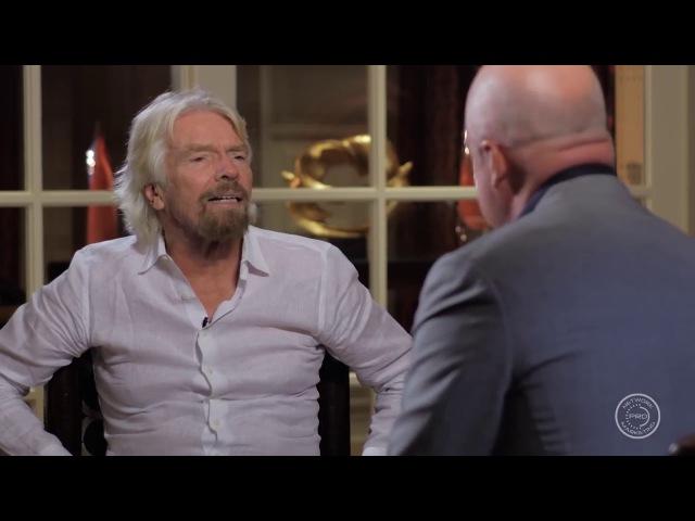 Сетевой маркетинг Интервью с миллиардером Ричардом Брэнсоном о бизнесе и МЛМ