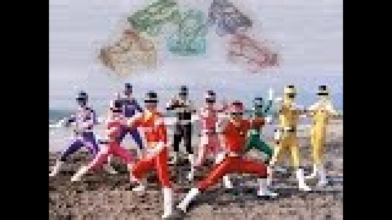 Power Rangers Turbo In Space Пауэр Рейнджерс или Могучие Боевые Рейнджеры Турбо В Космосе (часть 6)
