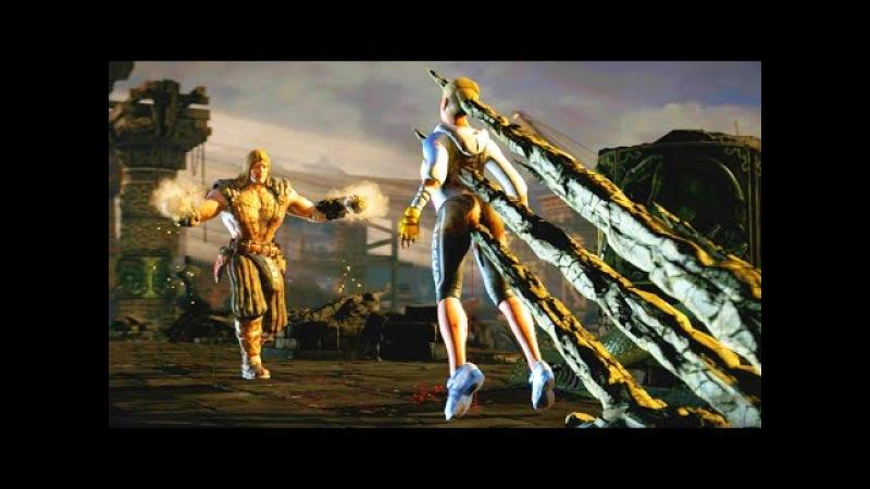 Mortal Kombat X All Tremors Fatalities, Brutalities, X-Ray Ending