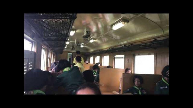 Покатушки на пригородном поезде Кхириратникхома - Сураттхани. Южная линия, Таиланд. 16/11/2017
