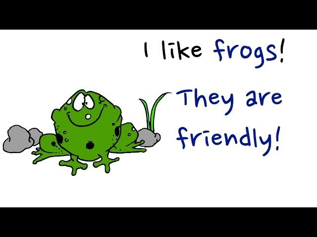 Learn Animals and Adjectives. Set 3. Easy English Conversation Practice. ESL.