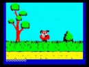 Preliminary animation test for Quack Hunt, ZX Spectrum