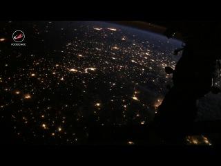 Таймлапс с борта Международной космической станции