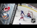 031818 Condensed Game Hurricanes @ Islanders