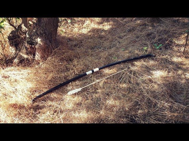 Как сделать мощный лук из ПВХ трубы