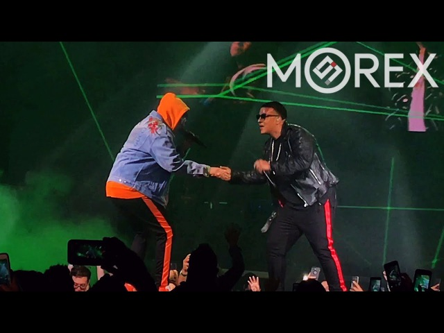 Daddy Yankee - Vuelve (ft Bad Bunny) (American Airlines 2017 - Dallas)