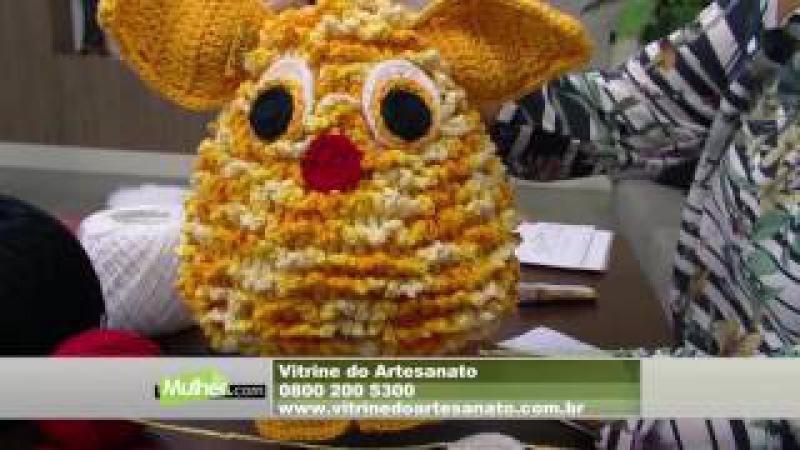 Mulher.com - 01/09/2016 - Bichinho Rick em crochê - Cristina Luriko P1
