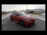 2018 Alfa Romeo Giulia Quadrifoglio Walk Around Video In Depth Review