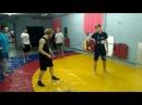 Боевое тхэквондо тренировочные моменты