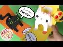 Милая открытка с котятами Время Детей