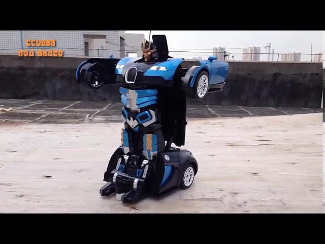 Игрушка машинка трансформер Hurtling Ares!