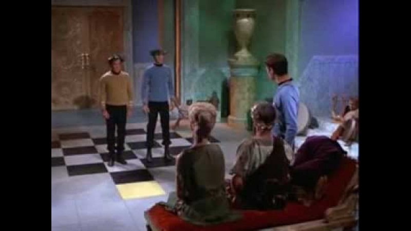 Kirk and Spock Get Lucky (Daft Punk)