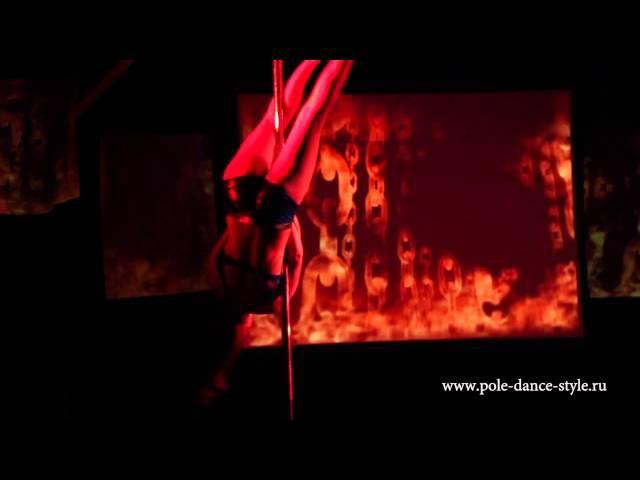 Анна Якушева Танцевальное шоу Ваш Выход от Pole Dance Style