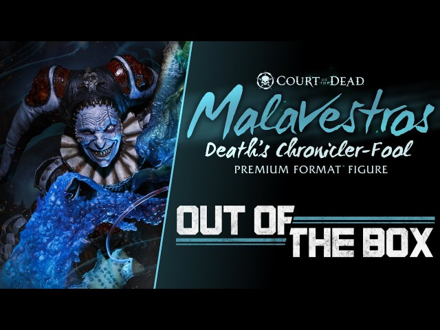 Out of the Box: Malavestros Premium Format™ Figure – Court of the Dead