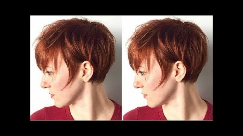 How to cut a Short Pixie Cut - Pixie Haircut Tutorial - Hairbrained
