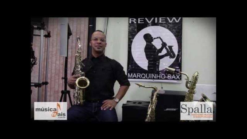 MARQUINHO SAX - REVIEW - Boquilha Claude Lakey original series