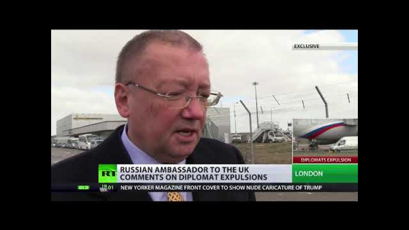 RUSSIAN AMBASSADOR TO UK COMMENTS ON DIPLOMAT EXPULSIONS.