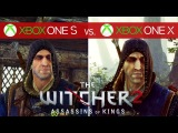 The Witcher 2 Comparison - Xbox One X vs. Xbox One S