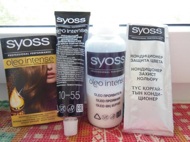 Syoss oleo intense 10-55 платиновый блонд. Сьес для блондинок.