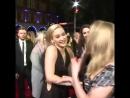 Jennifer Lawrence поцеловала Natalie Dormer