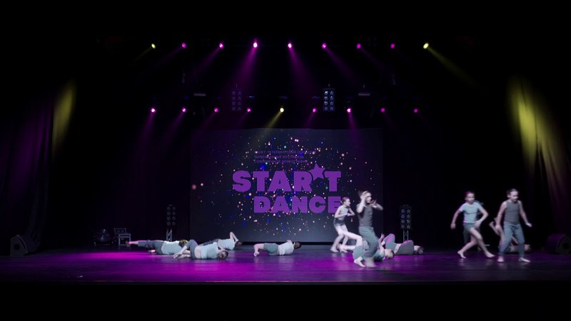 STAR'TDANCEFEST/VOL11/1'ST PLACE/Contemporary group profi kids/8 Dance Studio