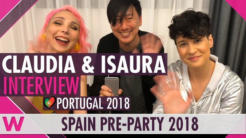 Claudia Pascoal Isaura (Portugal 2018) Interview | Eurovision Spain PreParty 2018
